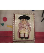 John Toby Dessert Mold by Haldon Group - Colonial Man with Jug - $8.55