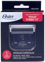 Genuine Oster Diamox Blade Size 1 For 76 Turbo 77 Titan 76918-646 Antimicrobial - $33.95
