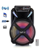 beFree Sound 15 Inch Bluetooth Portable Rechargeable Party Speaker - $138.69