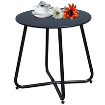Grand Patio Steel Patio Coffee Table, Weather Resistant Outdoor Side Tab... - $46.30