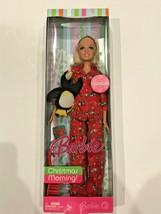 Barbie Christmas Morning 2007 Doll Penguin Ornament Mattel MIB NRFB #K8898 - $24.75