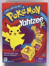 Vintage Pokemon Yahtzee Jr. Game 1999 Pokémon Game - Complete - $29.35