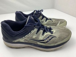 Saucony Guide ISO 2 Men's Running Shoes Size 12 Grey Blue - $29.69