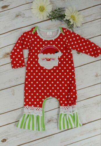 Santa Clause Applique Outfit