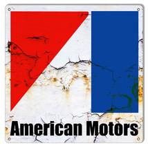 "American Motors Automobile Reproduction Garage Shop Sign 12""x12"" - $25.74"