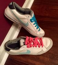 Nike Women Capri II 2009  407985 - 100 Teal & White Sneaker - $50.00