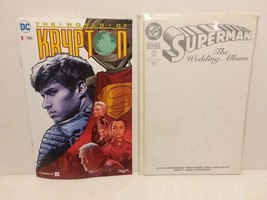 SUPERMAN - KRYPTON: SYFY SPECIAL INSERT COMIC + THE WEDDING - FREE SHIPP... - $14.03