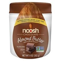 NOOSH Chocolate Almond Butter 11 oz - Vegan, Gluten Free, Kosher, NON GMO - Natu