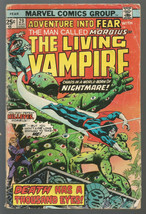Fear #29 MORBIUS THE LIVING VAMPIRE Marvel Comics 1975 Heck Mantlo - $8.91