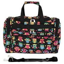 World Traveler 81T16-175  Duffle Bag, One Size, Owl Black - $39.90
