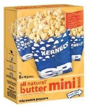 All Natural - 8pk Butter Mini Bags Microwave Popcorn -5Lbs - $112.10