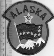 US Civil Air Patrol CAP Alaska Wing 49 US Air Force Auxiliary USAF AUX A... - $9.99