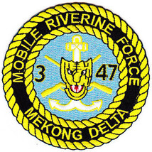 US Army 3rd Battalion 47th Infantry Regiment Mobile Riverine Force Patch NEW!!! - $11.87