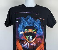 Lady Gaga Las Vegas Residency Enigma T Shirt Mens Medium cotton black - $34.60