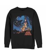 Star Wars Men's Classic Scene Black Sweatshirt - $37.48