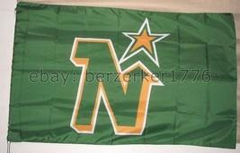 Minnesota North Stars NHL 3x5 Flag Banner - $25.00