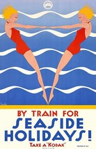 Train For Seaside Holidays! Kodak - Victorian Railway - 1930's - Travel ... - $9.99+