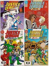 DC Justice League Europe Lot Issues #38-41 Batman Green Lantern Aquaman ... - $7.95