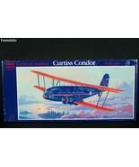 Glencoe Models Curtiss Condor Airplane Model Kit 1/81 New Sealed 1989 (M70) - $18.80