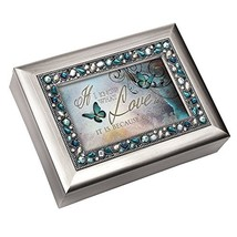 I Know What Love is Because of You Decorative Jewel Musical Music Jewelr... - $48.78