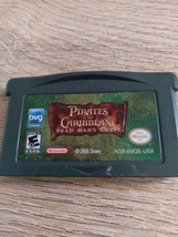 Nintendo Game Boy Advance GBA Pirates Of The Caribbean: Dead Man's Chest image 2