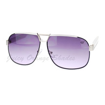 Designer Navigator Sunglasses Unisex Fashion Square Aviators - $8.95