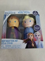 Disney Princess Frozen II Bath Toys For Kids Body Wash Elsa Anna Bottle ... - $7.65