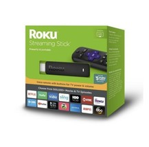 Roku Streaming Stick (6th Generation) 3800RW VUDU Edition - Black New