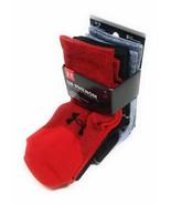 Under Armour UA Crew Socks Athletic Medium Mens Womens Black Red Gray Ph... - $22.77