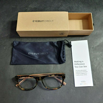 EyeBuyDirect Eyeglass Frames ONLY w/ Pouch, Willow, 52-17-140 - $29.16