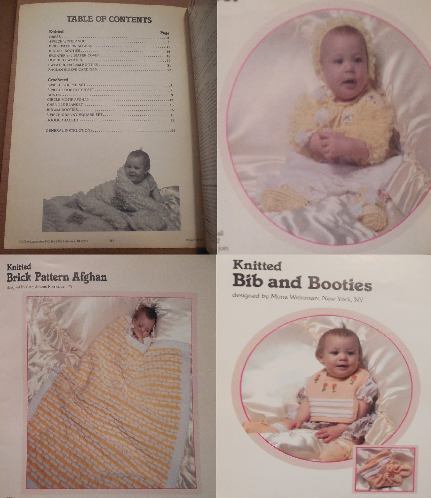 0468b5c8a20 Baby's Book Leisure Arts Leaflet No. 14-4 and 13 similar items