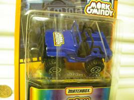 MATCHBOX 1998 SP EDN #13 MORK & MINDY STAR CAR BLUE JEEP WRANGLER MINT O... - $24.74