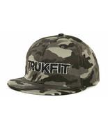 Trukfit Gray Camo Snapback Flat Bill Cap Hat  OSFM - $20.89