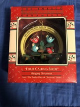 1988 New in Box - Enesco Christmas Ornament - Four Calling Birds - #556459 - $13.36