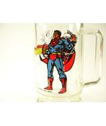 Vintage SUPERMAN Glass Mug Stein ~ DC Comics 1978 - $4.99