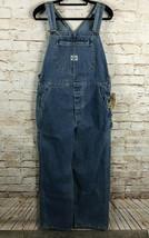 NWT VTG Lee Dungarees Bib Overalls Can't Bust Em Authentic Women's Size XL - $77.42