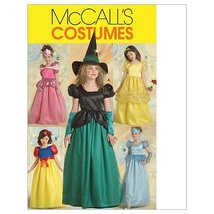 McCall's Patterns M5494 Children's/Girls' Princess and Witch Costumes, S... - $14.21