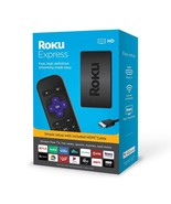 Brand New!! Roku Express HD 3930 Streaming Media Player NEW 2019 Black - $49.45