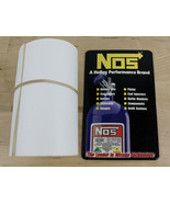"""NOS Nitrous Oxide Systems Windshield Decal 19120NOS about 37"""" x 2.75"""" - $19.99"""