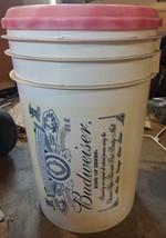 BUDWEISER BEER ADVERTISING BUCKET - $19.99