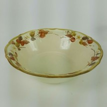 "Poppytrail Metlox Autumn Berry Serving Bowl 9"" Made in California EUC - $18.69"
