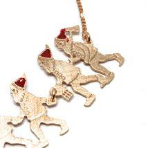 Armband 925 Silber, Sieben Zwerge in Reihe, Schmuck Le Favole image 5