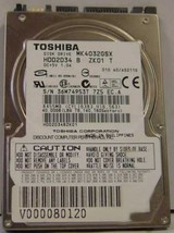 "New 40GB 2.5"" SATA Drive Toshiba MK4032GSX HDD2D34 Free USA Shipping"
