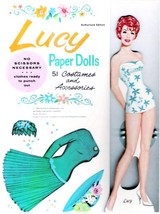 VINTAGE UNCUT 1963 'LUCY' PAPER DOLLS~#1 REPRODUCTION~WONDERFUL RARE SET! - $18.75