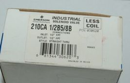 Emerson Climate Technologies 210CA Industrial Solenoid Valve Less Coil image 7