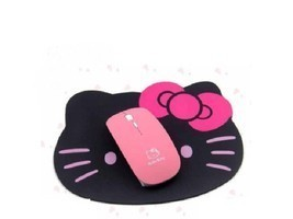Wireless Mouse 2.4G USB Receiver Kitty Computer Cordless PC Laptop Mice ... - $11.78