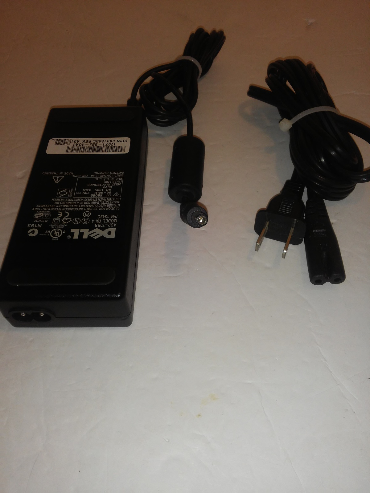 Dell 01243C 1243C PA-4 AC Adapter 20V 3 5A and 50 similar items