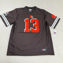 NFL Team Apparel Cleveland Browns Odell Beckham JR Jersey XL Brown NFLPA... - $39.59