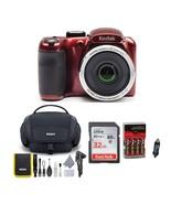 KODAK PIXPRO AZ252 Astro Zoom Digital Camera (Red) Bundle with 32GB Card... - £207.49 GBP