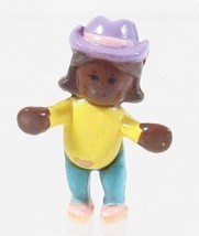1994 Vintage Polly Pocket Doll Happy Horses - Little Lulu Bluebird Toys - $7.50